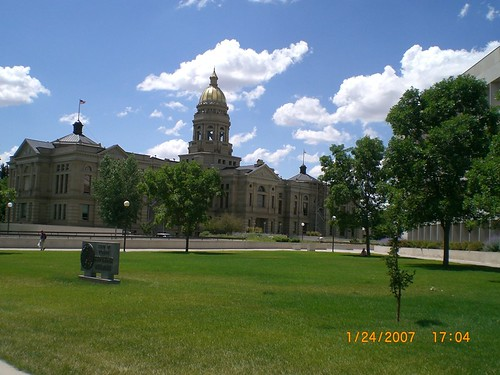 Wyoming Capitol | by Sadie_Girl