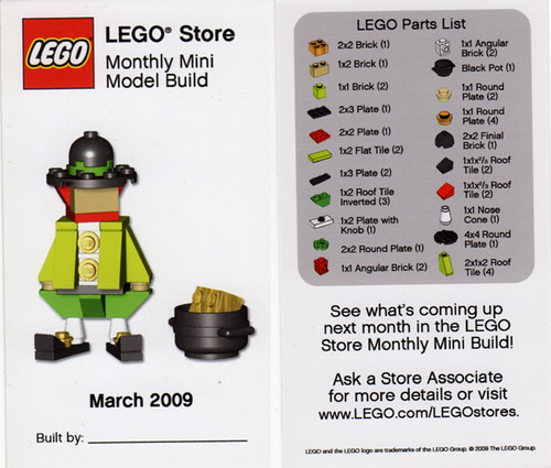 Lego Store Mini Build May