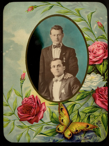 Two men in suits with bowties | by George Eastman Museum