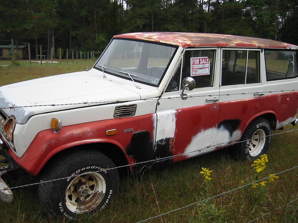 Vintage 1970s Toyota Landcruiser Suv 1968 Fj55 Perhaps