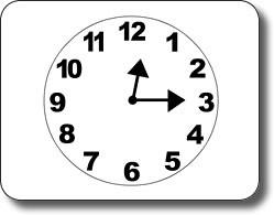 Clock Worksheet - Quarter Past and Quarter to