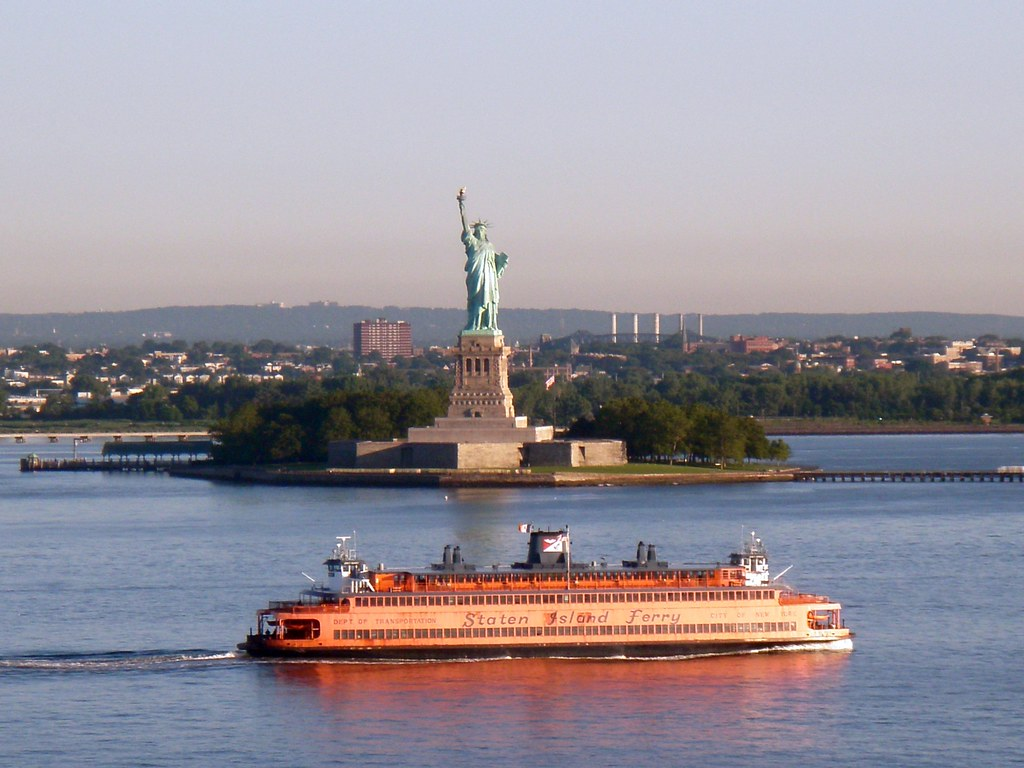 Statue of Liberty Staten Island Ferry Staten Island Ferr Flickr