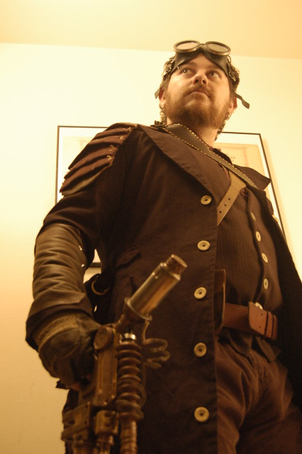 Steampunk Costume: Airship Captain | Explore Team ...