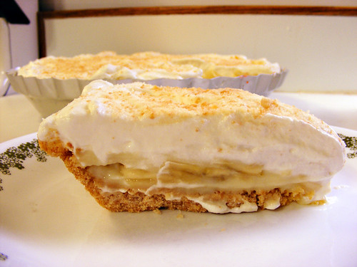 """My Best Banana Cream Pie"" slice   Recipe from ""The Wooden ..."