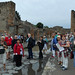 Our travel group at Pompeii