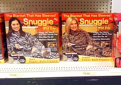 For the secretly wild and lazy: animal-print Snuggies | by stannate