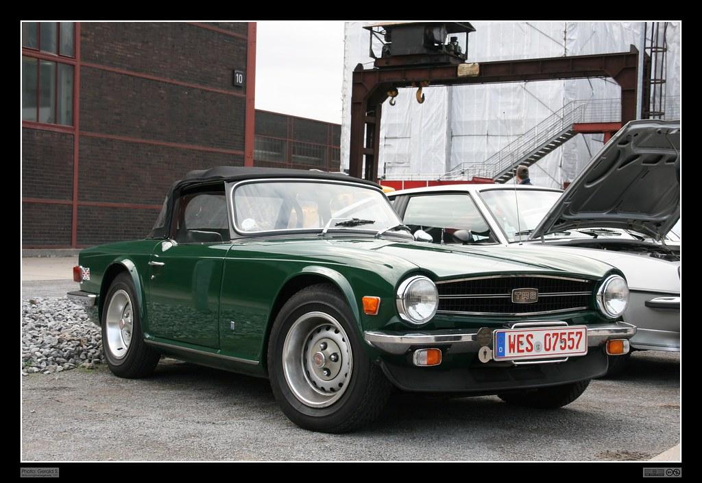 1968 Triumph Tr6  02