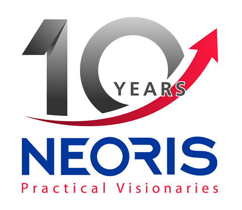 10 years logo neoris 10 years logo color neoris grew out of the 4882