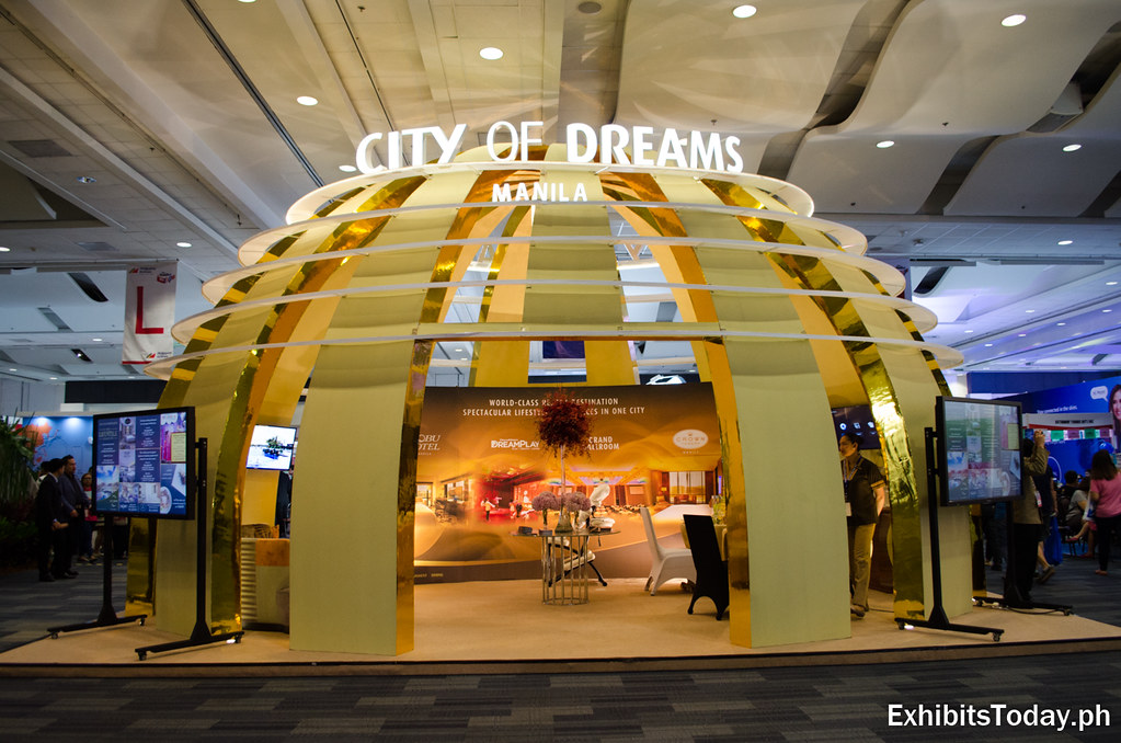 City of Dreams Trade Show Display