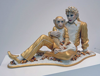 Michael Jackson and Bubbles - Jeff Koons (3481)