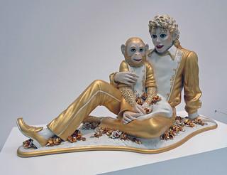 Michael Jackson and Bubbles - Jeff Koons (3481)