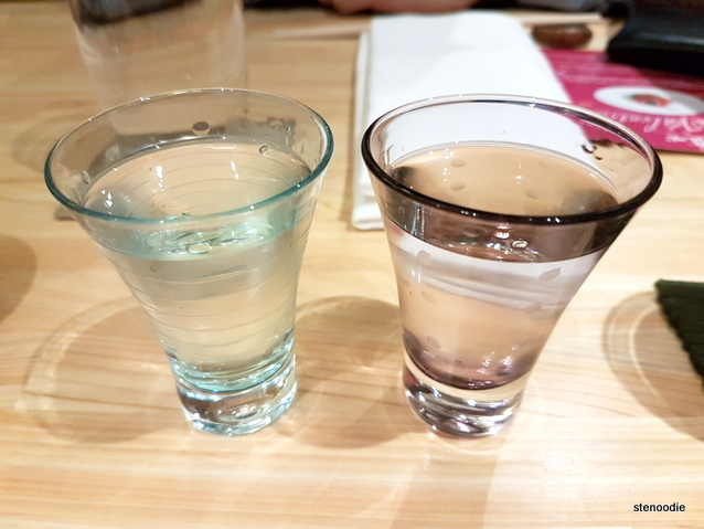 Shoushin sake pairing