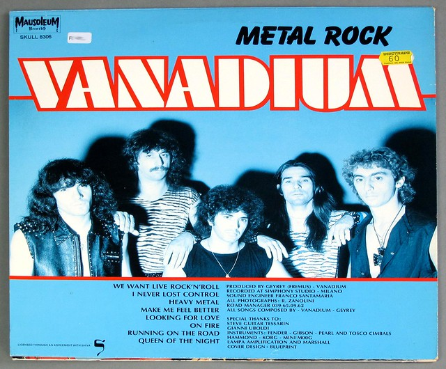"VANADIUM METAL ROCK MAUSOLEUM 12"" LP VINYL"