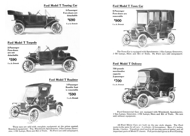 1912 Ford Model T Advertisement From FORD TIMES June