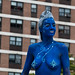 Blue Mermaid of The Projects
