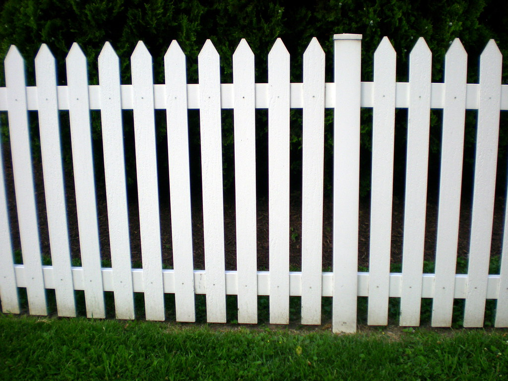 White Picket Fence Um It S A White Picket Fence