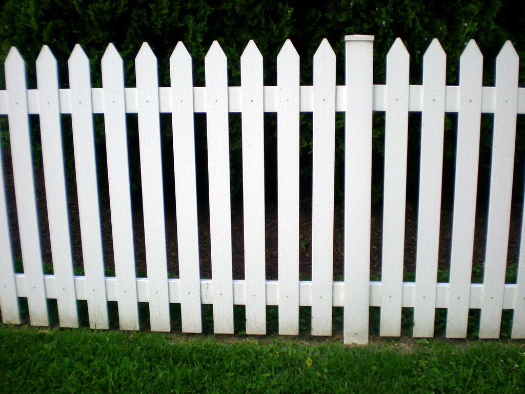 Picket Fence And Garden Tea Room