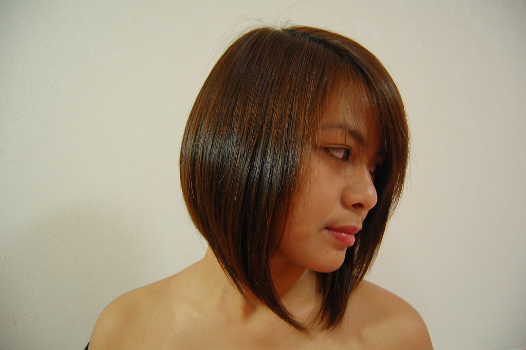 Concave Bob Cut She S Loving Her Hair First Time To