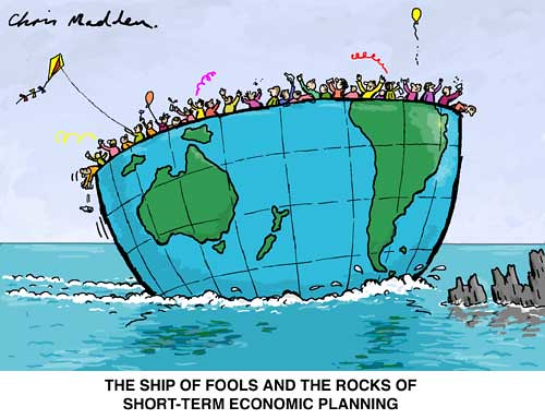Image result for a ship of fools and the rocks of