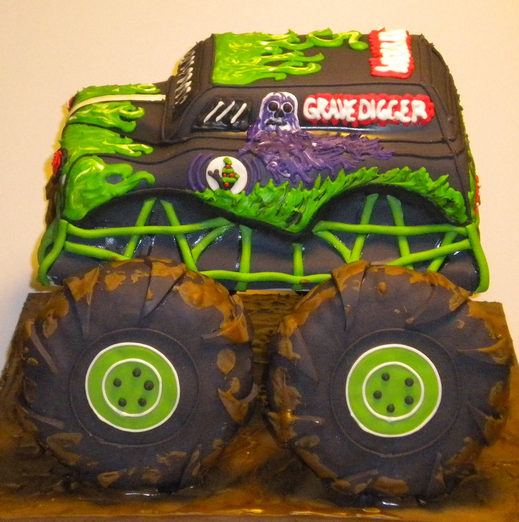 Grave Digger Tried Something New With This Cake Decided