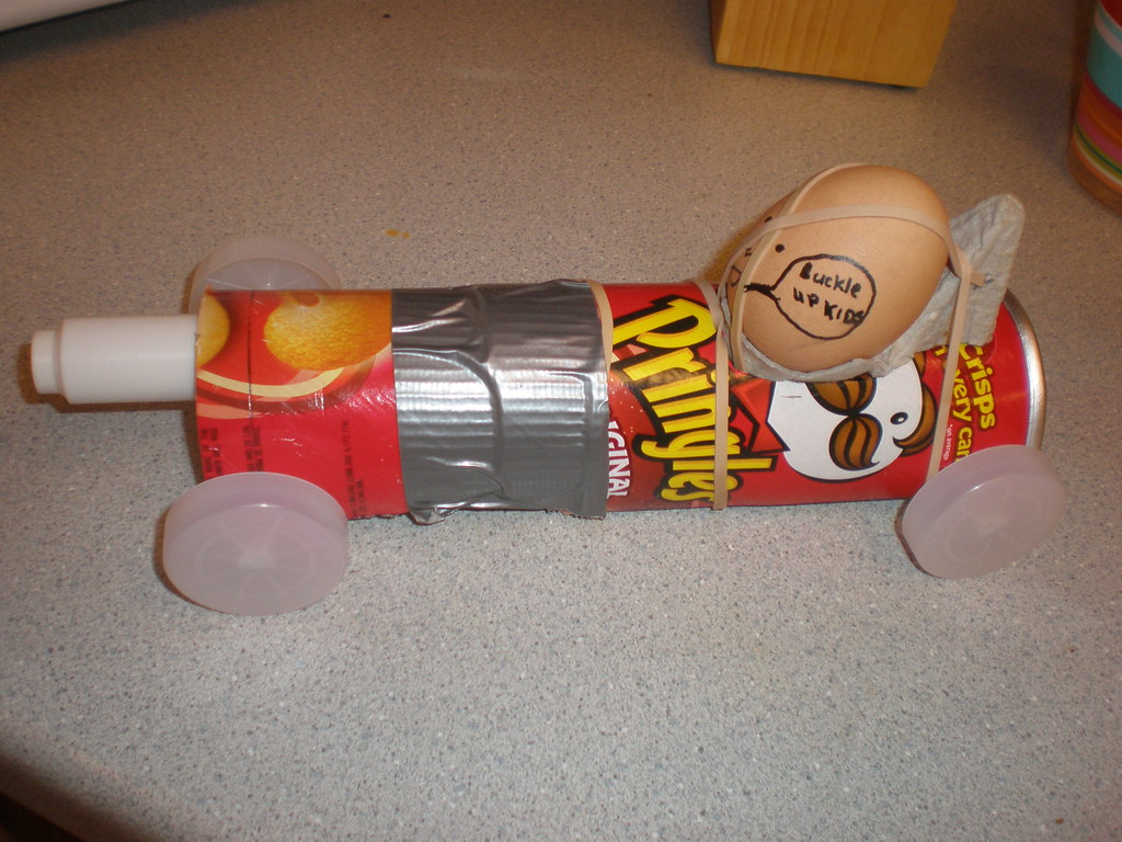 Egg Crash Car
