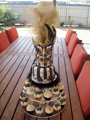 Mossy's masterpiece - 50th Birthday black gold & silver ma ...