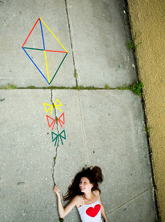 a kite in the cracks | by colormekatie
