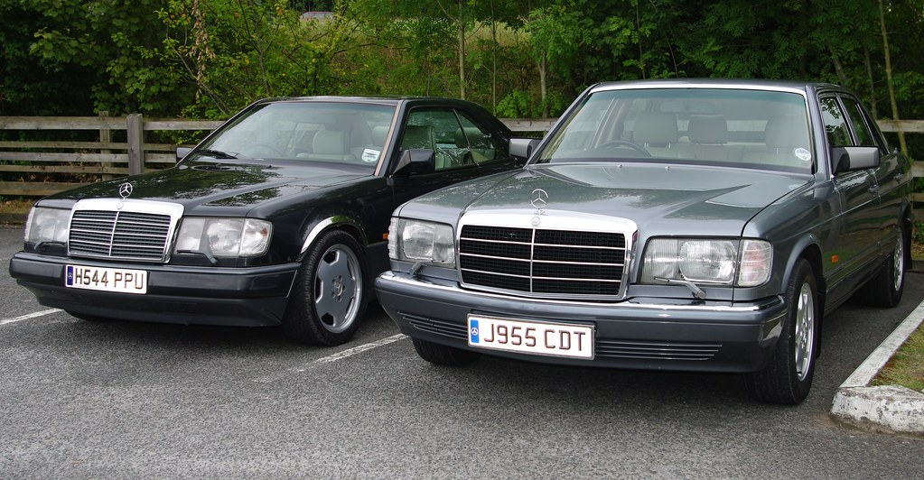 Les W124 And My W126 Mercedes Benz Ce And Se The Car On Flickr