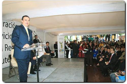 Oficina registro civil en cuautepec inauguraci n de la for Oficina registro