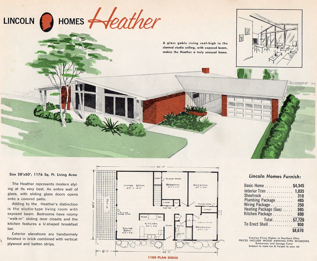 Homes And Plans Of The 1940s 50s 60s 70s Flickr Home Wiring Plan