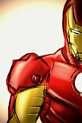Iron Man Sketch | by -dOn-