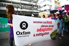 'Women can lead climate change adaptation and mitigation' | by Oxfam International