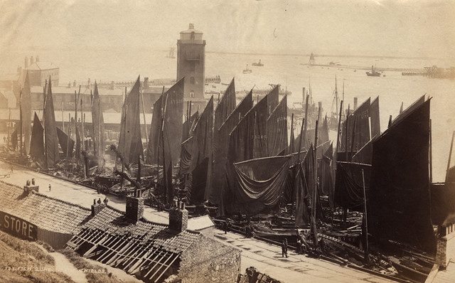 Ic Free Shipping >> 001835:Fish Quay North Shields unknown c.1890 ...