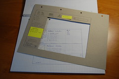 The paper prototype draft