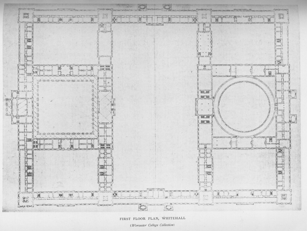 Whitehall palace plan of first floor other title for Palace plan