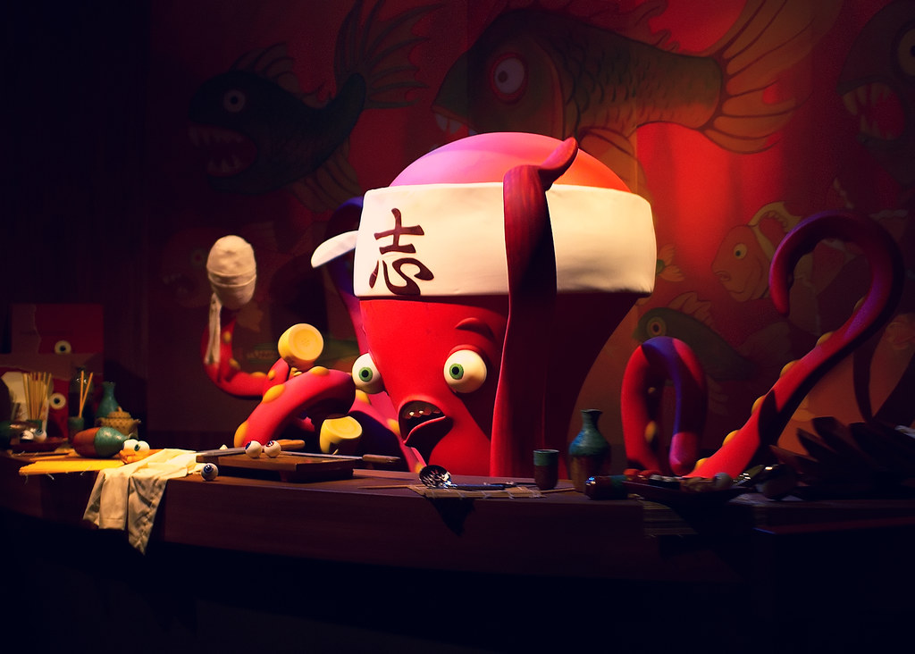 "Daily Disney - Octopus Sushi Chef | ""...there's a kid in her ..."