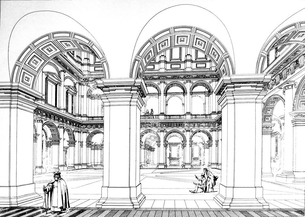 palazzo farnese  interno