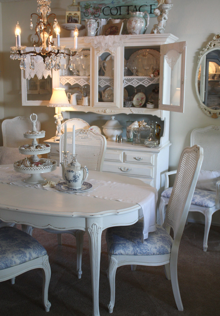 Charmant ... Shabby Chic Dining | By Romantic Home