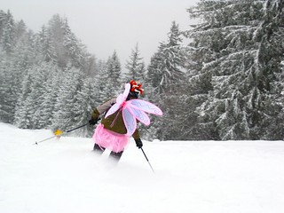 The Skiing Fairie | by John Conners