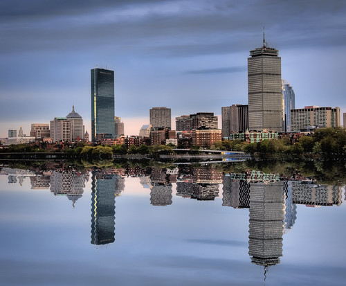 Boston in the Mirror | by Werner Kunz