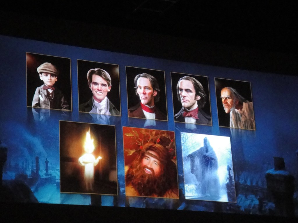 A Christmas Carol - the many faces of Jim Carrey | The Conmunity ...