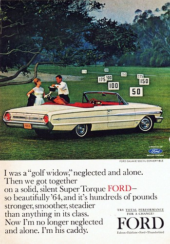 1964 Ford Galaxie 500XL Convertible Ad | by aldenjewell