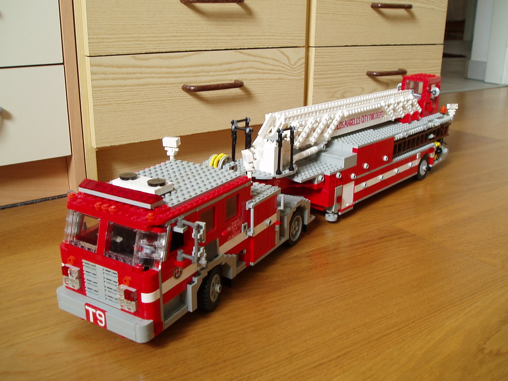 Lafd Tiller Revamped 3 I Also Rebuilt The Aft Cab With