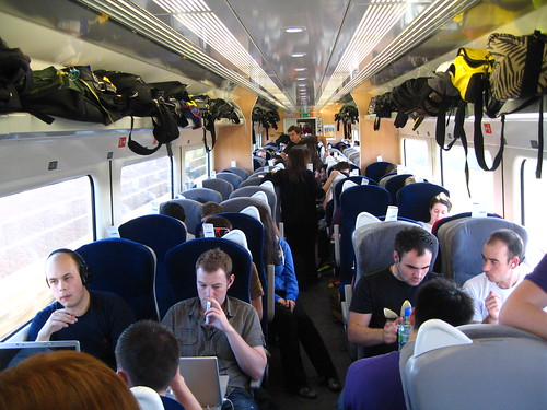 Private train carriages for large group travel | by Train Chartering & Private Rail Cars