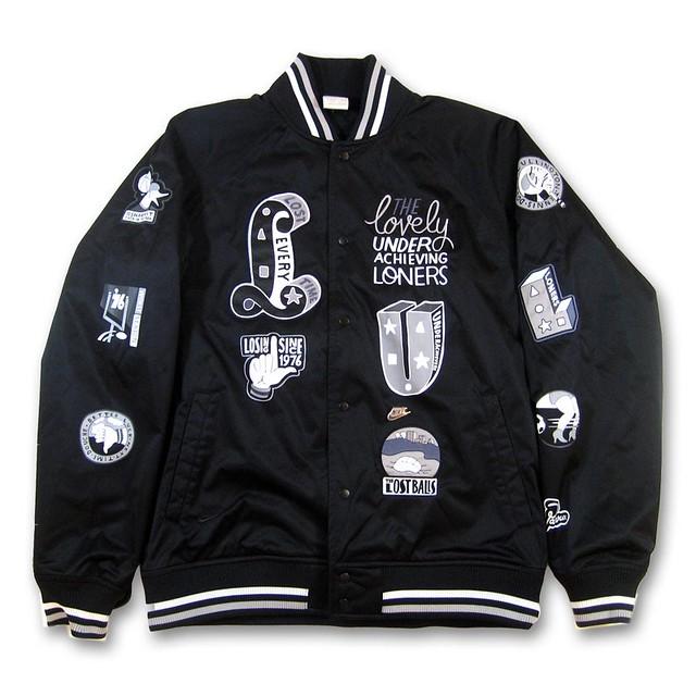 ... totally kewl Nike x Parra Varsity Jacket www.compoundgalle… 39c98e8ad