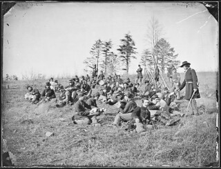 Infantry Resting From Drills | by The U.S. National Archives