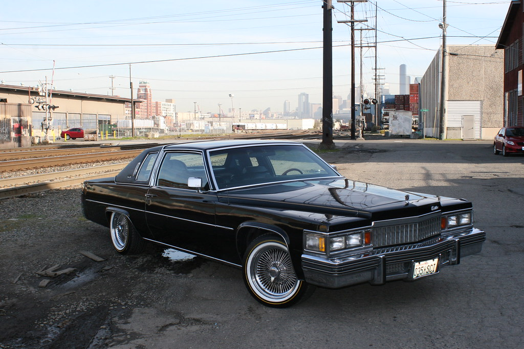 1978 Cadillac Coupe Deville 78 Coupe Deville Black On