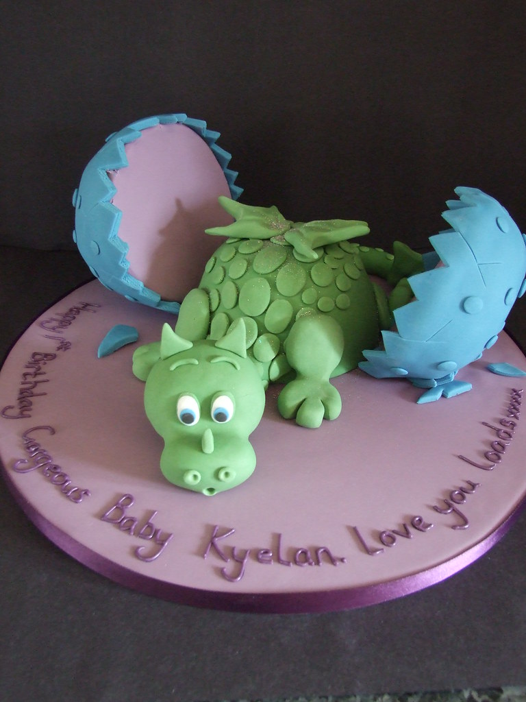 Baby Dragon Cake Original Design By Debbie Brown The