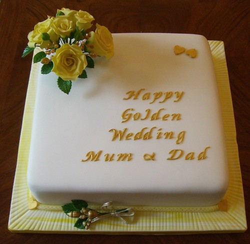 golden wedding cake messages golden wedding anniversary cake a cake for some 14762