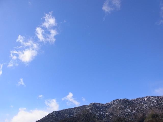 雪の後の風景